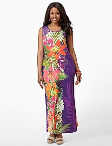 Honolulu Blossom Maxi by CATHERINES
