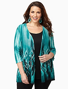 Diamond Cascade Cardigan by CATHERINES