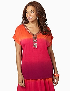 Sunset Shade V-Neck