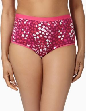 Serenada® Dotted Cotton Brief