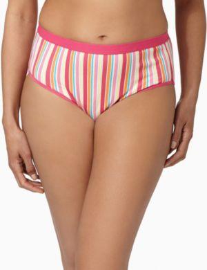 Serenada® Stripe Hi-Cut Panty