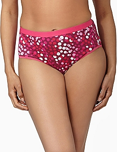 Serenada® Dotted Hi-Cut Panty