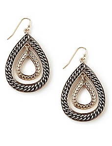Teardrop Chain Earrings