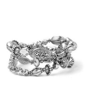Etched Bead Bracelet