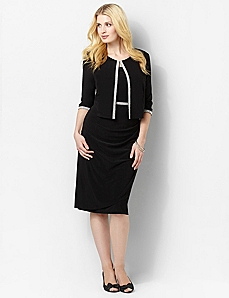 Spotlight Trim Jacket Dress