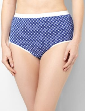 Serenada® Circle Cotton Brief