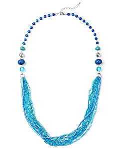 Blue Sensation Necklace by CATHERINES