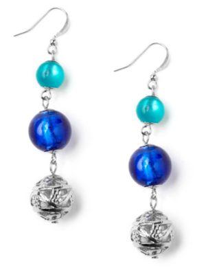 Blue Sensation Earrings
