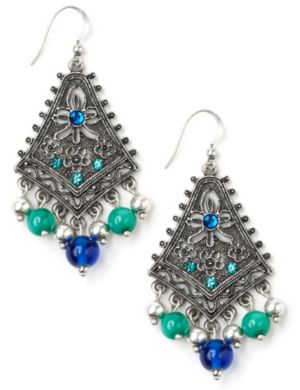Filigree Charm Earrings