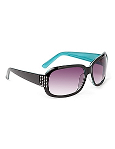 Colorblock Sunglasses by CATHERINES