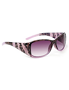 Sparkles & Stripes Sunglasses by CATHERINES