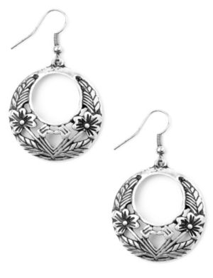 Floral Filigree Earrings