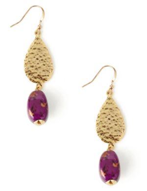 Metallic Speckle Earrings