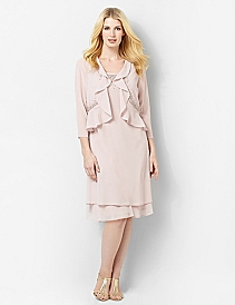 Flutter Jacket Dress