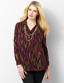 Bright Ikat Shirt