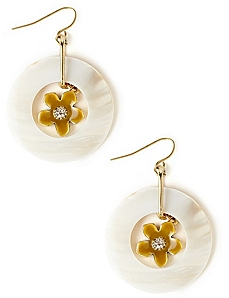 Shell Flower Earrings