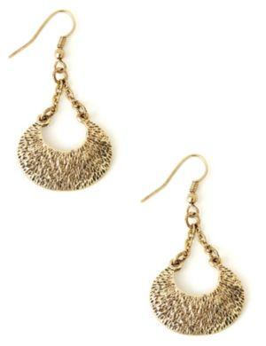 Crescent Charm Earrings