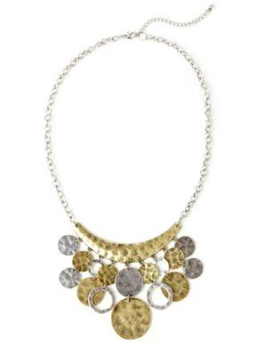 Empire Crescent Necklace