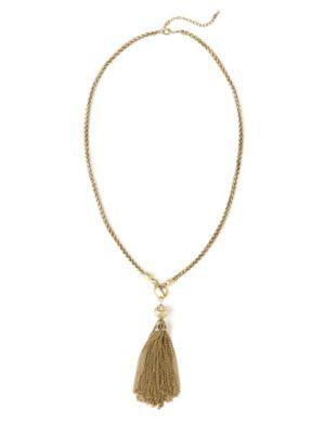 Tassel Capsule Necklace