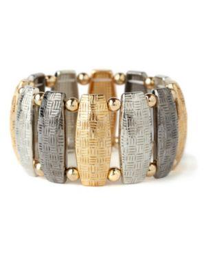 Tri-Tone Cuff Bracelet