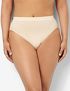 Serenada® Seamless Pindot Panty by CATHERINES