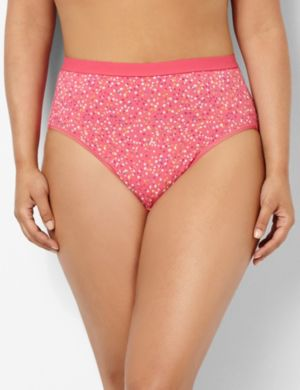 Serenada® Falling Star Hi-Cut Brief Panty