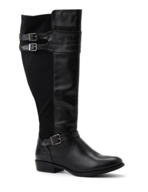 Double Buckle Riding Boot