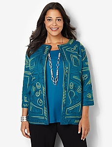 Intrigue Soutache Jacket