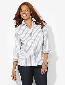 Non-Iron Stripe Shirt