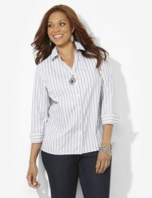 Non-Iron Stripe Shirt