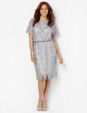 Fringe Crochet Dress