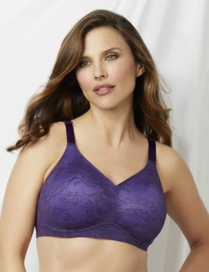 No-Wire Lace Back-Smoother Bra