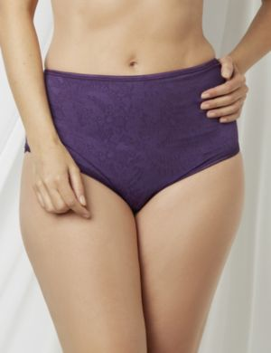 Tummy Control Lace Full Brief Panty