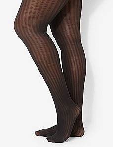 Ribbed Tights by CATHERINES