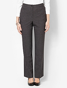 Printed Heathered Jayne Pant by CATHERINES