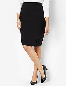 Bi-Stretch Skirt by CATHERINES