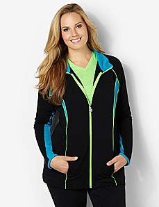 Balance Active Jacket by CATHERINES