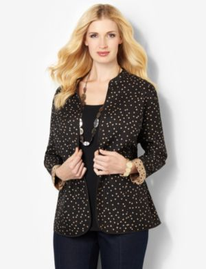 Dotted Reversible Jacket