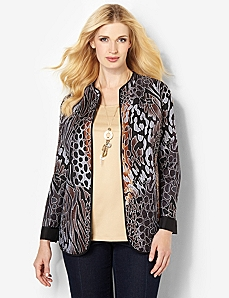 Reversible Animal Jacket by CATHERINES