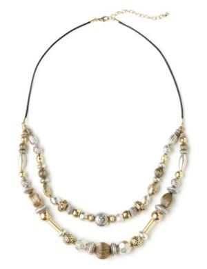 Antique-Look Etch Necklace