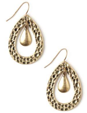 Tiny Teardrop Earrings