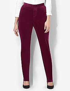 Timeless Fit Corduroy Pant by CATHERINES