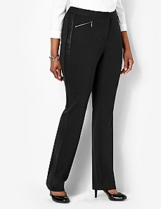 Trim Finish Pant by CATHERINES