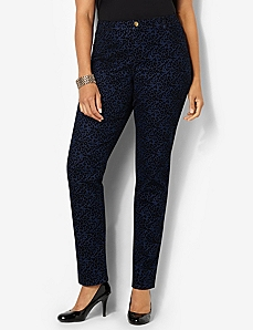 Leopard Jean by CATHERINES
