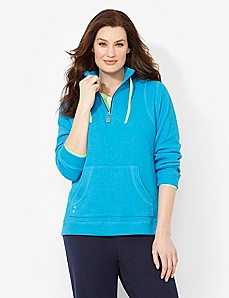 Motivation Half-Zip Jacket by CATHERINES