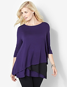 Colorblock Duet Top