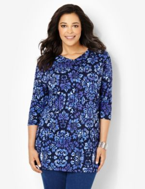 Floral Charm Tunic