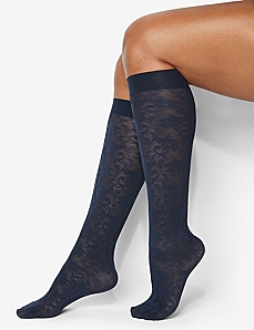 Jacquard Trouser Socks by Catherines