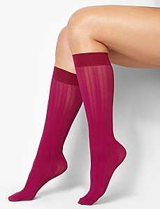 Chevron Stripe Trouser Socks by CATHERINES