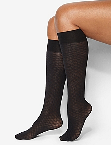 Diamond Trouser Socks by CATHERINES